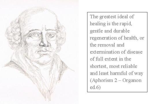 Hahnemann-Quote