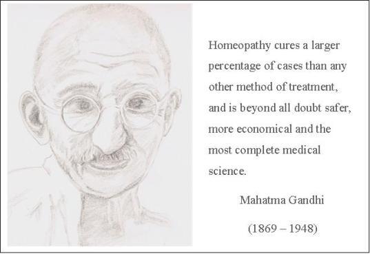 Mahatma Gandhi Quote w. pic