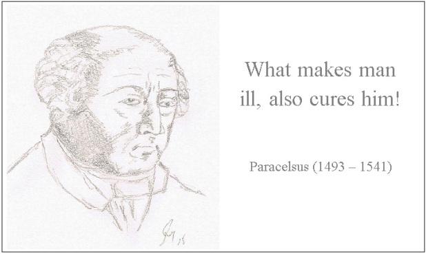 Paracelsus-Quote !