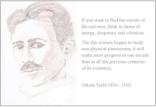 Tesla Quote 3rd Issue this one