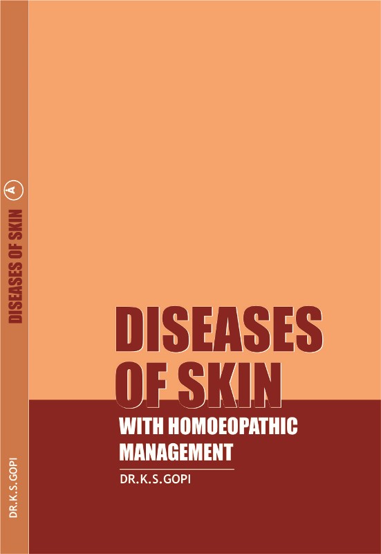 REVIEW of 'DISEASES OF SKIN WITH HOMOEOPATHIC MANAGEMENT'