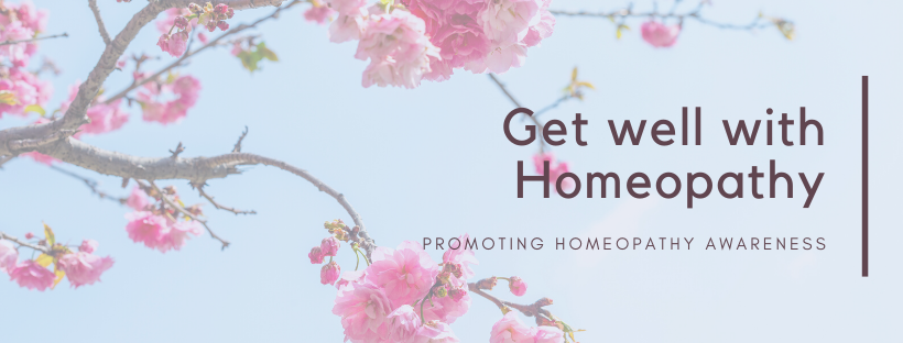 An invitation to join: 'Get well with Homeopathy' for Homeopathy Awareness Week