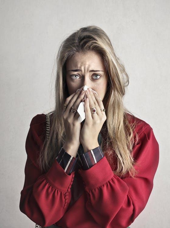 Suicidal attempts caused by allergic rhinitis